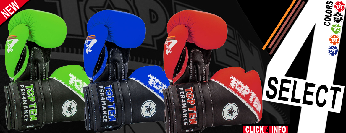 Top Ten 4 Select Gloves