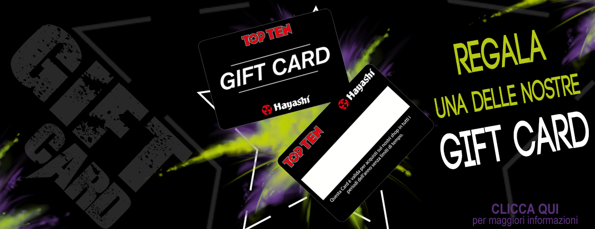 Top Ten Gift Card