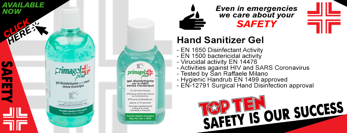 Top Ten Gel Disinfettante