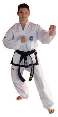 Dobok Taekwondo TOP TEN KYONG Master 1-3 Dan