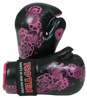 "Semi-Contact Gloves TOP TEN PointFighter ""Flowers"""