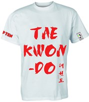 "T-Shirt Top Ten ""TAE KWON-DO"""