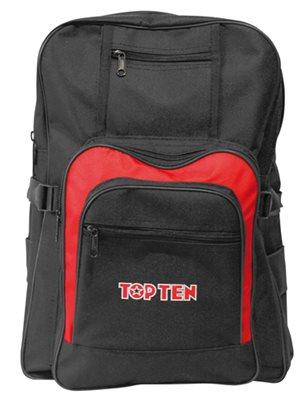 Backpack TOP TEN Black/Red