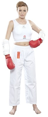 "Women´s Karate Chest Guard HAYASHI ""Maxi"" (WKF  approved)"