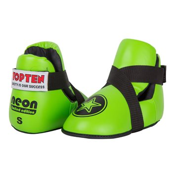 "Calzari Parapiedi TOP TEN FIGHT ""Star"" NEON Verde"