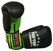 "Kickboxing Gloves TOPTEN ""FIGHT"" 10 oz ""Neon Edition"""