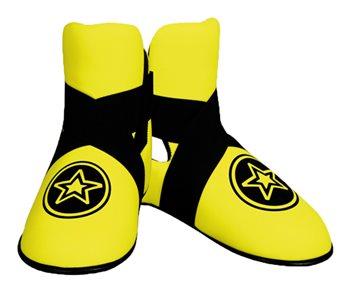 "Kicks TOP TEN FIGHT ""Star"" NEON Yellow"