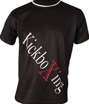 "T-Shirt TOP TEN ""Kickboxing"" Diagonal"