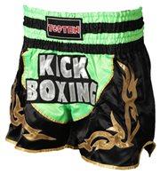 Kickboxing Thai Shorts TOP TEN NEON Green