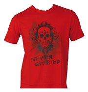 "T-Shirt TOP TEN ""Never Give Up"""