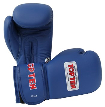 Boxing Gloves TOP TEN Competition AIBA Official 12 Oz with Label