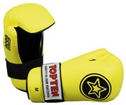 "Semi-Contact Gloves TOP TEN PointFighter ""Star"" NEON Yellow"