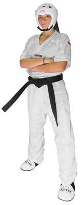 Divisa Kickboxing TOP TEN MESH BIANCA Special Edition Kids