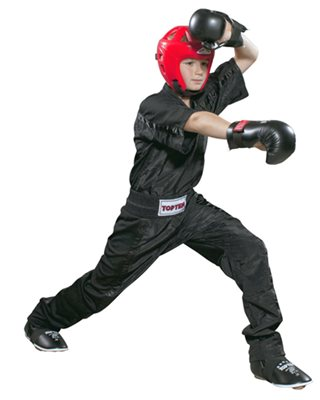 Divisa Kickboxing TOP TEN MESH NERA Special Edition Kids