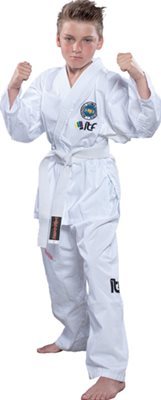 Dobok Taekwondo TOP TEN DELUXE ITF 2013 Cinture Colorate