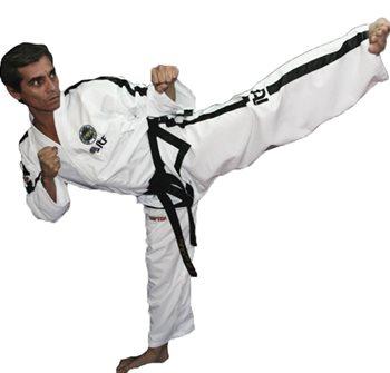 Dobok Taekwondo TOP TEN PQ Mesh ITF 2013 Instructor >4 Dan