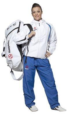 HAYASHI Sportbag/backpack combo SPORT BAG White Big
