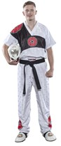 Kickboxing Uniform TOP TEN Fight Elite White
