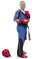 Kickboxing Uniform TOP TEN Fight Elite Blue