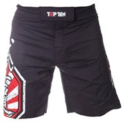"MMA Short TOP TEN ""Sunrise"" Red"