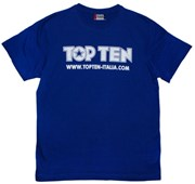T-Shirt TOP TEN ITALY Blue