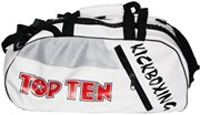 "TOP TEN Sportbag/backpack combo ""Kickboxing"" Rexion Small White"
