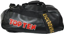 "TOP TEN Sportbag/backpack combo ""Kickboxing"" Rexion Small Black"
