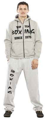 """Felpa con cappuccio TOP TEN """"Boxing Since 1975"""""""