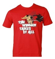 "T-Shirt TOP TEN ""The Winner Takes"" Skull"