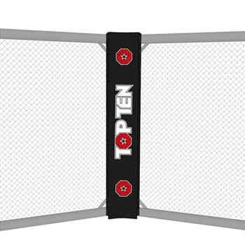 Double Face Soft Corner with TOP TEN logo for MMA Cage TOP TEN
