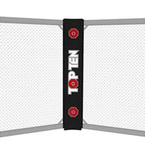 Cuscino Angolare Double Face TOP TEN per Gabbia MMA con logo TOP TEN