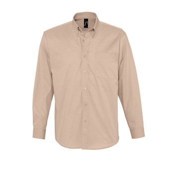 BEL AIR - LONG SLEEVE COTTON TWILL MEN'S SHIRT