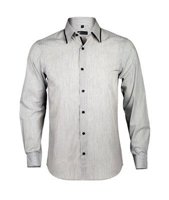BAXTER MEN - MEN'S LONG SLEEVE FITTED SHIRT