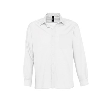 BALTIMORE - LONG SLEEVE POPLIN MEN'S SHIRT