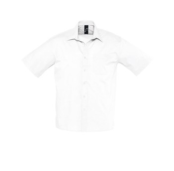 BRISTOL - SHORT SLEEVE POPLIN MEN'S SHIRT