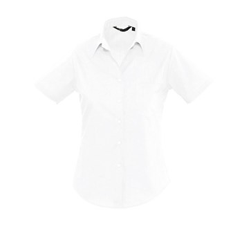 ESCAPE - SHORT SLEEVE POPLIN WOMEN'S SHIRT