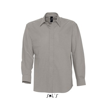 BOSTON - LONG SLEEVE OXFORD MEN'S SHIRT
