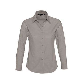 EMBASSY - LONG SLEEVE OXFORD WOMEN'S SHIRT