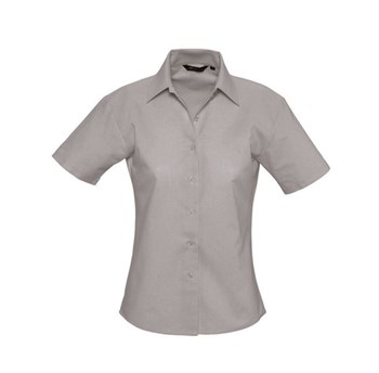 ELITE - CAMICIA DONNA OXFORD MANICA CORTA