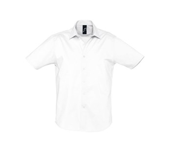BROADWAY - CAMICIA UOMO STRETCH MANICA CORTA