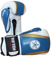 "Kickboxing Gloves TOP TEN ""Star & Stripes"" Blue 10 oz"
