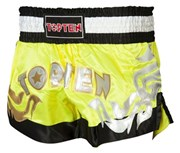 Kickboxing Thai Shorts TOP TEN NEON Yellow
