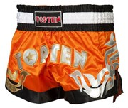 Kickboxing Thai Shorts TOP TEN NEON Orange