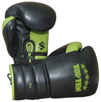 Sparring Gloves TOP TEN Lace Up Pro 16 oz