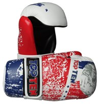 "Semi-Contact Gloves TOP TEN PointFighter ""ROOSTER"""