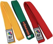 TOP TEN Taekwon-Do ITF belt monocrome