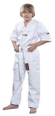 Divisa Kickboxing TOP TEN Polycotton White