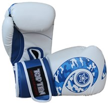 "Boxing gloves TOP TEN ""Blue Whirl"" WCS 10 oz"