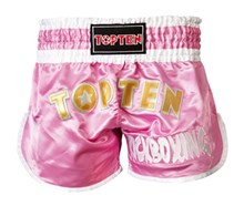 Kickboxing Thai Shorts TOP TEN Pink