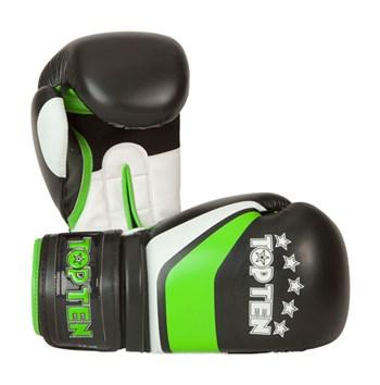 "Kickboxing Gloves TOP TEN ""Perfect"" Green 12 oz"